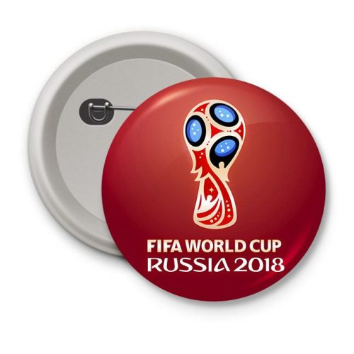 pin button badges FIFA World Cup Russia 2018
