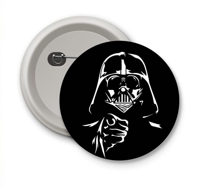 Chapa Darth Vader May the force be with you