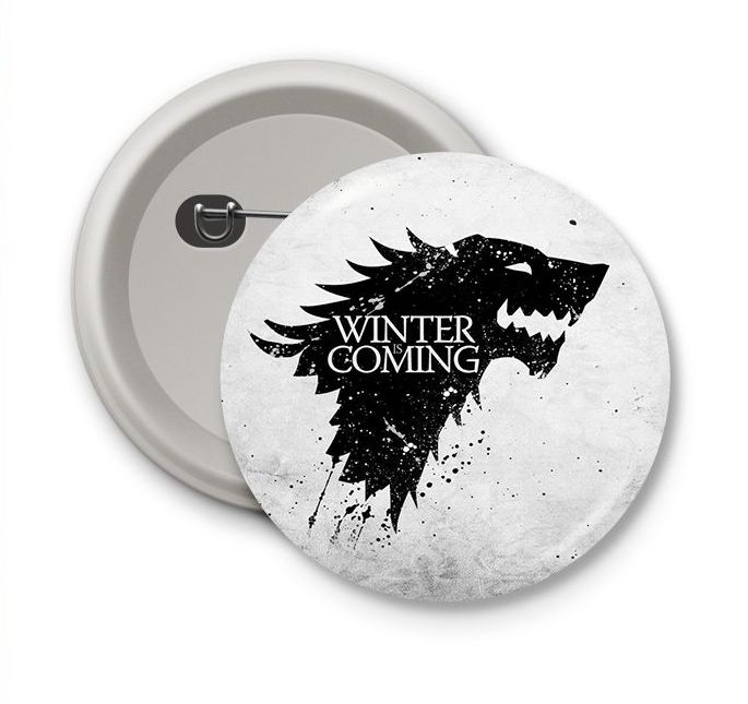 Chapa Game of thrones Winter is coming