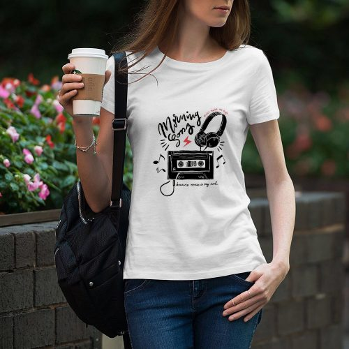 CAMISETA CHICA MORNING SONG