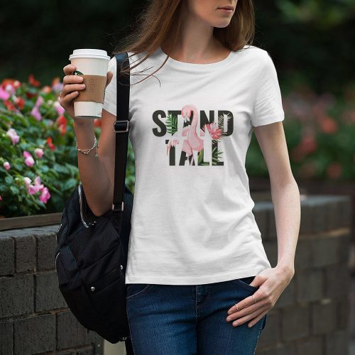 Camiseta chica Stand Tall