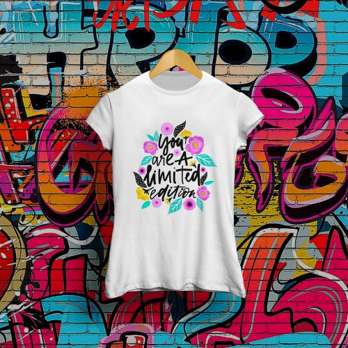 Camiseta chica Limited Edition
